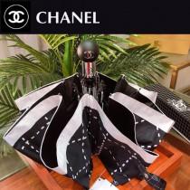 CHANEL雨傘-15 亞太專櫃最新款山茶花全自動UV晴雨傘