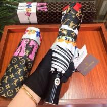 Louis Vuitton雨傘-10 LV 專櫃夏季新款全自動折疊晴雨傘
