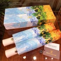 Louis Vuitton雨傘-11 LV 專櫃夏季新款 全自動折疊晴雨傘