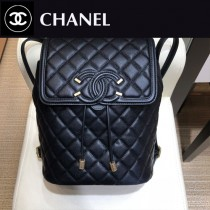 CHANEL 原版皮-03 Chanel 春夏新款SS pre collection CClogo雙肩背包