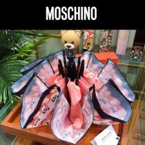 Moschino雨傘-01 莫斯奇諾小熊 自動傘