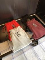 19夏季Riccard Tisc新標設計夏季休閑純棉TB標誌 短褲五分褲男士
