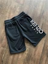 掌櫃推薦 KEZ 虎頭兩色 字母logo印膠男士毛圈輕薄款短褲