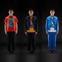 Mocler天才第5計劃,Craig Green系列:19SS情侶款糖果色系,胸前logo撞色印花圓領短袖tee