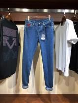路易19SS春夏男士重工水洗針織棉重磅牛仔褲頂級貿易公司貨!進口丹寧面料極