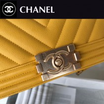 CHANEL-13 原版皮  67086大V格 leboy細球紋原單系列 斜背包