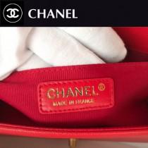 CHANEL-14 原版皮  67086大V格 leboy細球紋原單系列 斜背包
