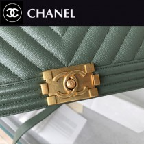 CHANEL-11 原版皮  67086大V格 leboy細球紋原單系列 斜背包