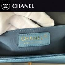 CHANEL-03 原版皮  67086大V格 leboy細球紋原單系列 斜背包