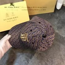 博柏利Burberry火爆單品TB經典格紋棒球帽高版本質量