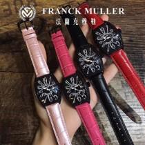 FM 法蘭克穆勒 FranckMuller  酒桶型表殼和誇張的弧度設計 滿足了小女生對FM的熱愛