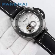 沛納海 新款 皮帶款 瑞士機械手表 意大利皇家海軍指定專用表