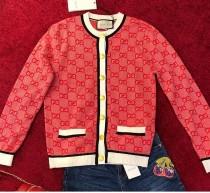 G家2019初秋系列新款。雙Glogo提花針織開衫