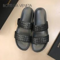 BV 代購級 男士春夏真皮編織拖鞋,原廠配置、意大利進口牛皮,純手工編制