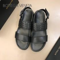 BV 代購級 男士涼鞋 春夏真皮編織拖鞋,原廠配置、意大利進口牛皮