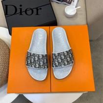 DIOR迪奧新款  拖鞋  獨家限定系列 休閑時裝拖鞋進口小牛皮