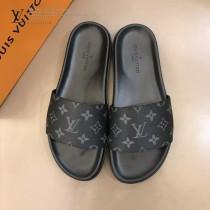 LV 男士涼鞋 經典款男士拖鞋
