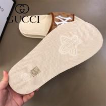 GUCCI NY聯名款 高端男士拖鞋男士高品質經典拖鞋