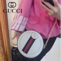 550618-1 原版皮新款Gucci Ophidia爆款小圓餅