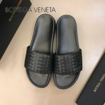 BV 代購級 男士春夏真皮編織拖鞋