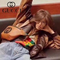 536416-3 新款 Gucci Dapper Dan特別聯名系列 胸包 腰包