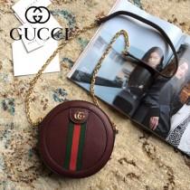 550618 原版皮新款Gucci Ophidia爆款小圓餅