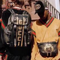 536416 新款 Gucci Dapper Dan特別聯名系列 胸包 腰包