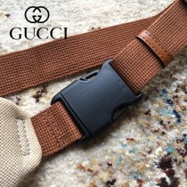 575082 Gucci 新款 高级米色复古帆布包 腰包