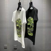 PXp 2019春夏款男士短袖T恤。高級進口雙絲光棉面料細膩柔軟上身挺