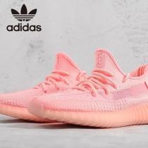 原單椰子鞋 熒光紅 巴斯夫真爆Adidas Yeezy 350 Boost V2 定制版