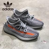官方貨號#EG7963原單椰子鞋  adidas YEEZY BOOST 350 V2 斑馬橘側透