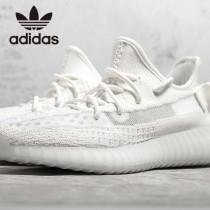 原單椰子鞋  Adidas Yeezy 350 Boost V2 全白限定