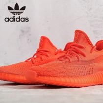 原單椰子鞋  紅色 巴斯夫真爆Adidas Yeezy 350 Boost V2 定制版