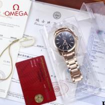 鷗米茄8500機芯海馬系列Aqua Terra 150米腕表-03