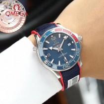 仿瑞士機芯 全新鷗米茄海馬系列腕錶 精選優質配件-02