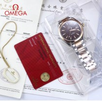 鷗米茄8500機芯海馬系列Aqua Terra 150米腕表-06