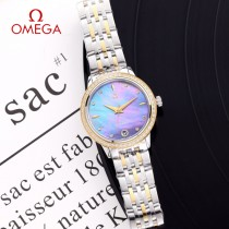 OMEGA-190 歐米茄-OMEGA經典碟飛系列 女款機械腕表