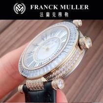 Franck Muller-30 法蘭克穆勒 Franck Muller   最新款2針時尚女士腕表