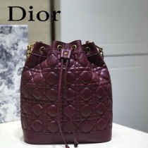 DIOR迪奧 編號1693-02 原版小羊皮Miss DIOR手袋 水桶包