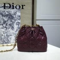 DIOR迪奧 編號1692-02 原版小羊皮Miss DIOR手袋 水桶包