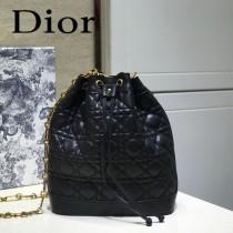 DIOR迪奧 編號1693-03 原版小羊皮Miss DIOR手袋 水桶包