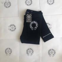 克羅心Chr後褲腳英文字母的打底褲單獨環保小紙袋包裝打底褲