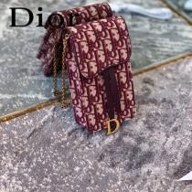 DIOR迪奧原版皮新款Oblique系列手機包-02