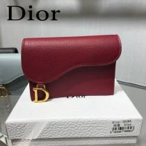 DIOR迪奧原版皮小卡包  全皮卡包 零錢包-01