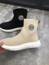 sup超火爆全球聯名限量款襪套飛織鞋