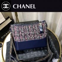 Chanel Gabrielle編織流浪包 定制胎牛皮-01