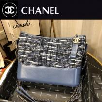 Chanel Gabrielle編織流浪包 定制胎牛皮-02