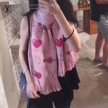LV最新情人節限定彩虹圍巾 真絲