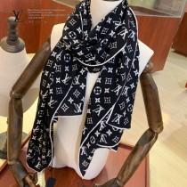 Lv 羊絨斜紋長巾