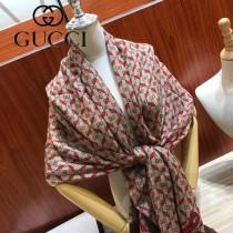 Gucci 新款原單羊絨圍巾